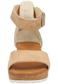 Paul Green - Platform sandals - beige 006 - 4