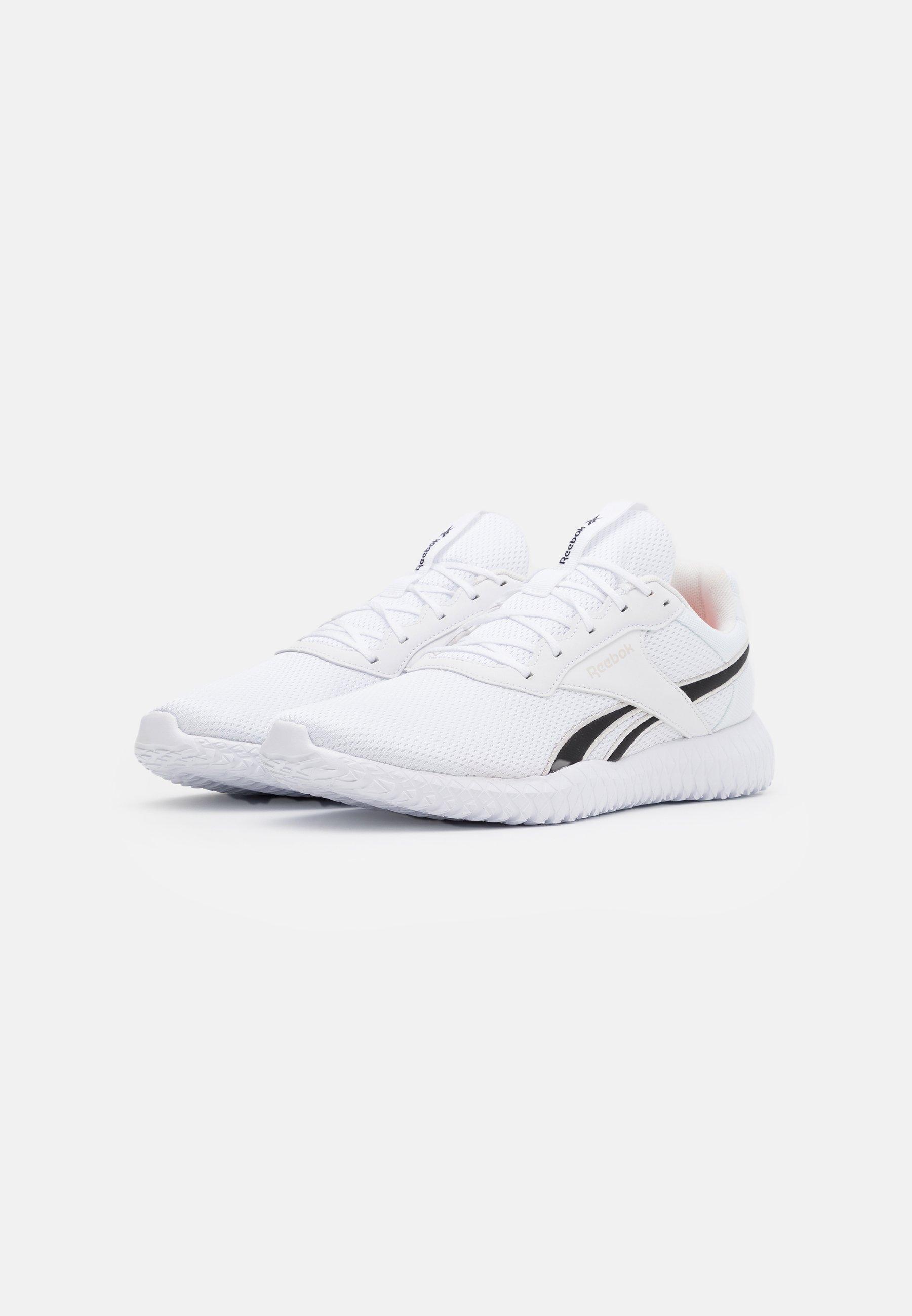 Reebok PHEEHAN - Nøytrale løpesko - white/posh pink/black