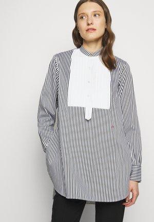 TUXEDO BIB - Skjorte - black/ off white