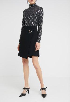 CHARLENE FANCY SKIRT - A-line skirt - black