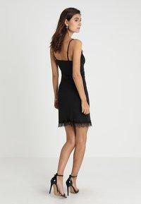 Rosemunde - STRAP DRESS - Cocktail dress / Party dress - black - 2