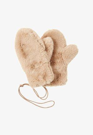 Gloves - cargo beige