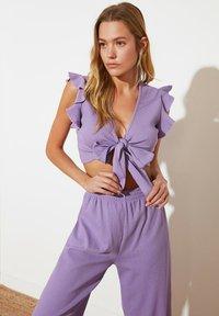 Trendyol - Blouse - purple - 0