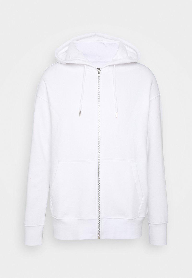 YOURTURN - UNISEX - Zip-up hoodie - white