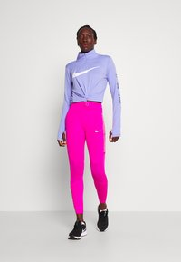 Nike Performance - FAST 7/8 - Leggings - fire pink/white - 1