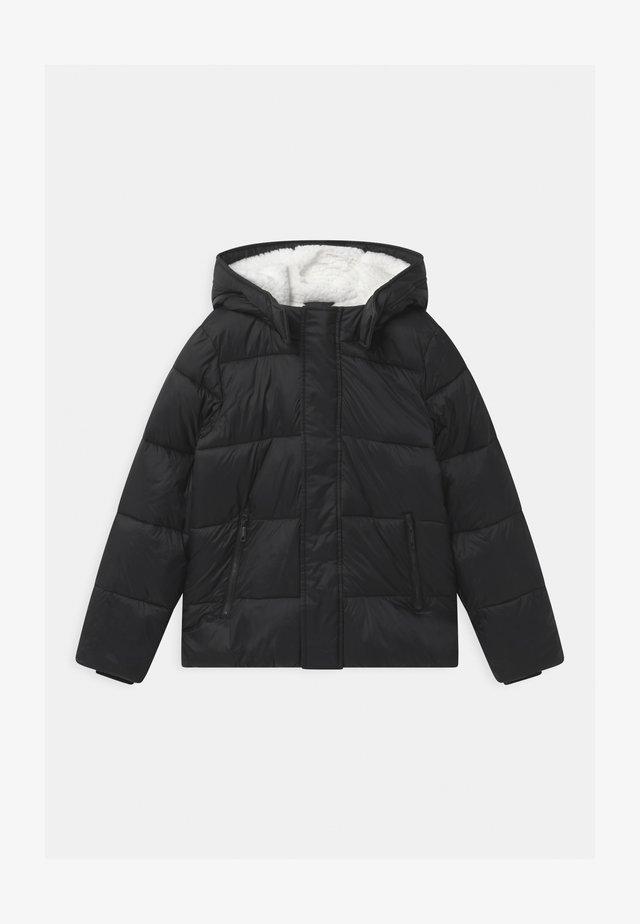 ESSENTIAL PUFFER UNISEX - Winter jacket - black