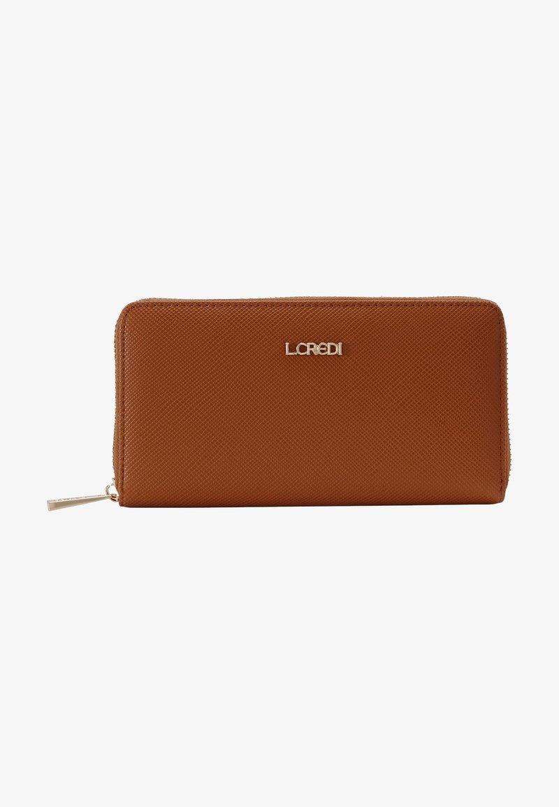L.CREDI - EBBA  - Wallet - cognac
