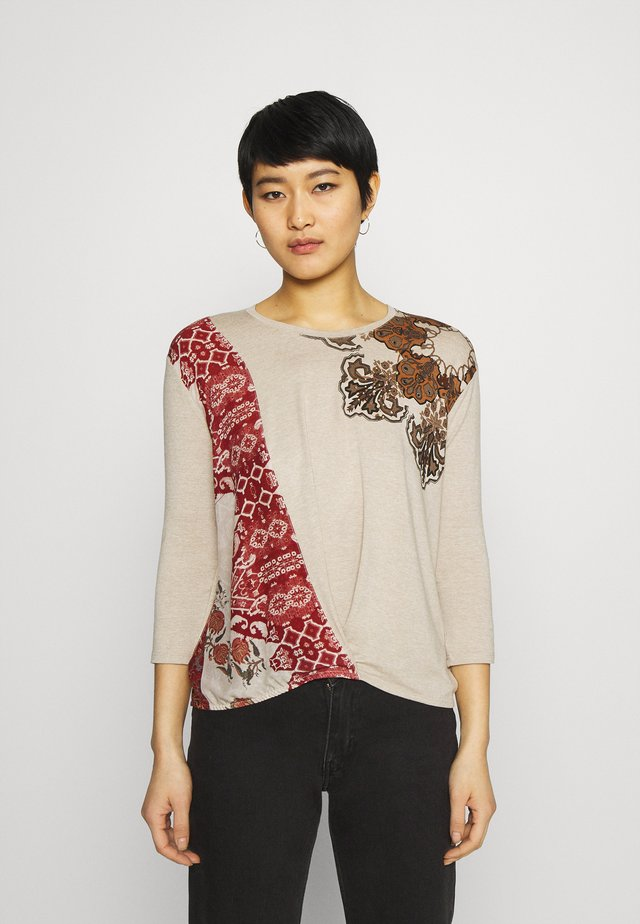 OPORTO - Long sleeved top - white