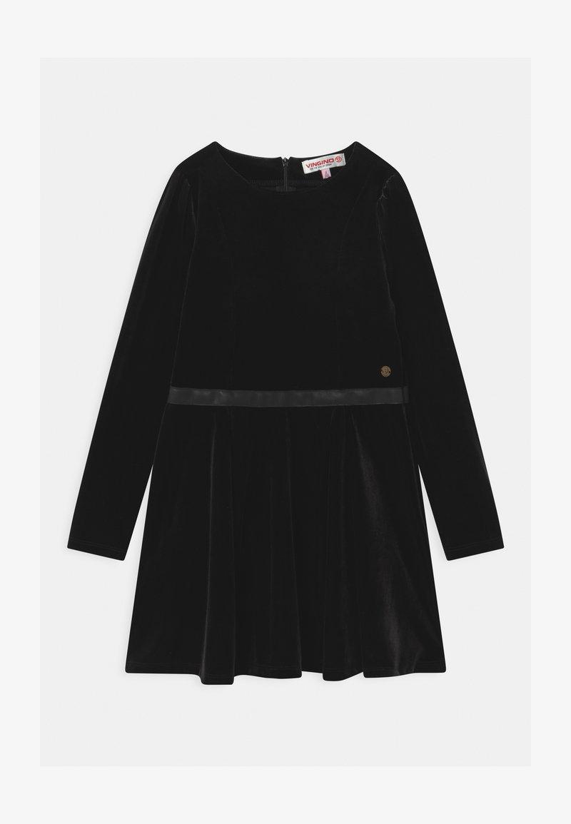 Vingino - PALMIRE SKATER  - Koktejlové šaty/ šaty na párty - deep black