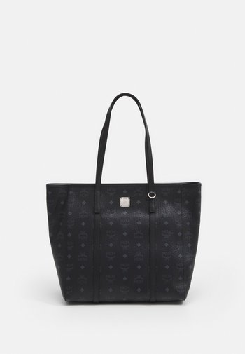 TONI VISETOS SHOPPER MEDIUM - Tote bag - black
