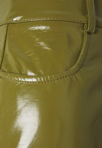 Missguided - TURN UP TROUSER - Trousers - olive - 2