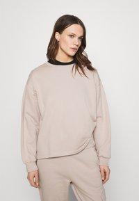 ALIGNE - CARSON - Sweatshirt - mushroom - 0