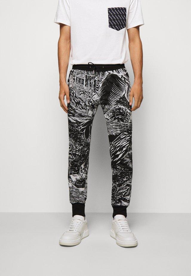 GENTS JOGGER - Teplákové kalhoty - black