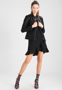 JDY - JDYDALLAS JACKET - Faux leather jacket - black - 1