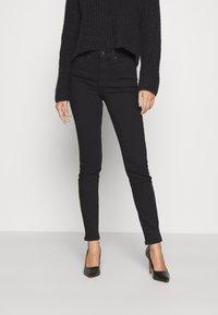 Anna Field - Slim fit jeans - black denim - 0