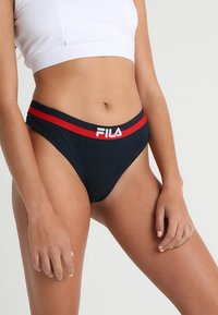 Fila - URBAN 2 PACK - Thong - navy - 1