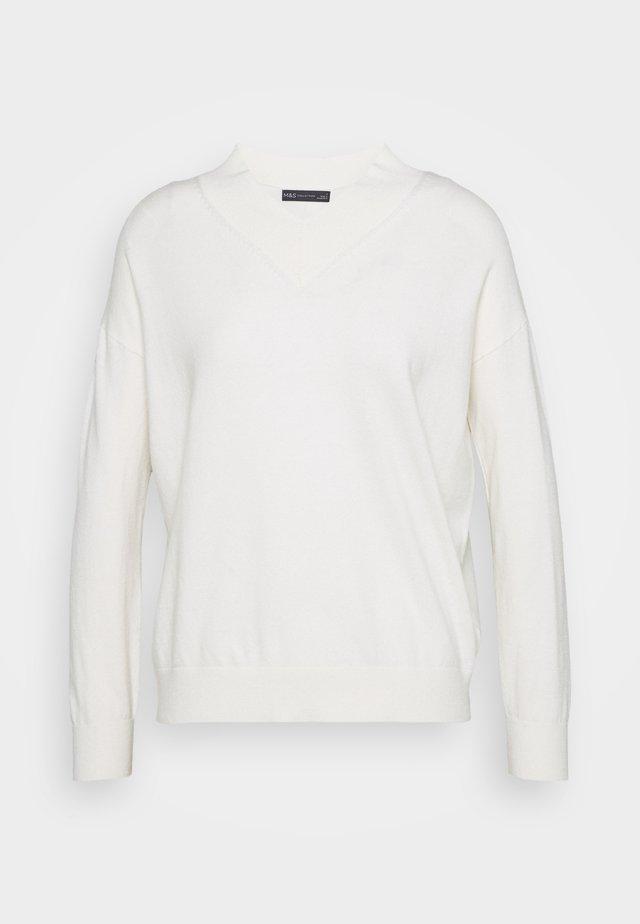 HIGH VEE - Pullover - beige