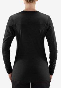 Haglöfs - ACTIVES WOOL ROUNDNECK  - Long sleeved top - true black - 1