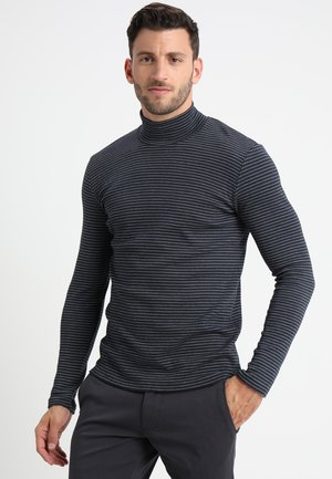 MERKUR STRIPE  - Long sleeved top - dark sapphire
