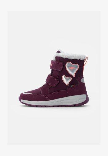 LURVE - Winter boots - shiraz/dusty rose