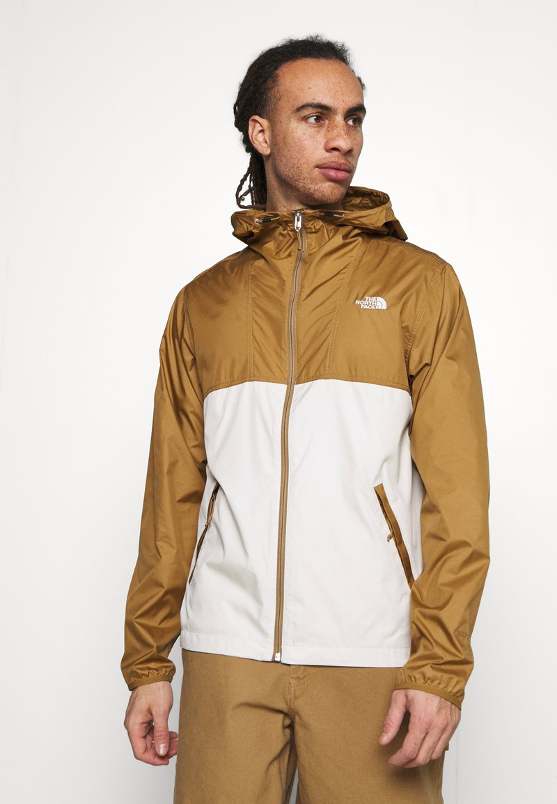The North Face - CYCLONE JACKET UTILITY - Outdoorjas - brown/off-white