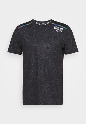 TEE GALENE - Print T-shirt - black