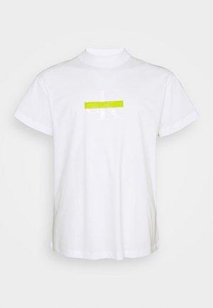 CENSORED TEE - T-shirt med print - bright white
