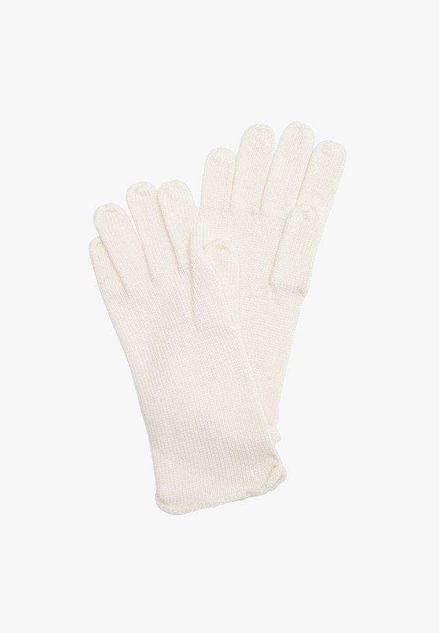 Gloves - cream
