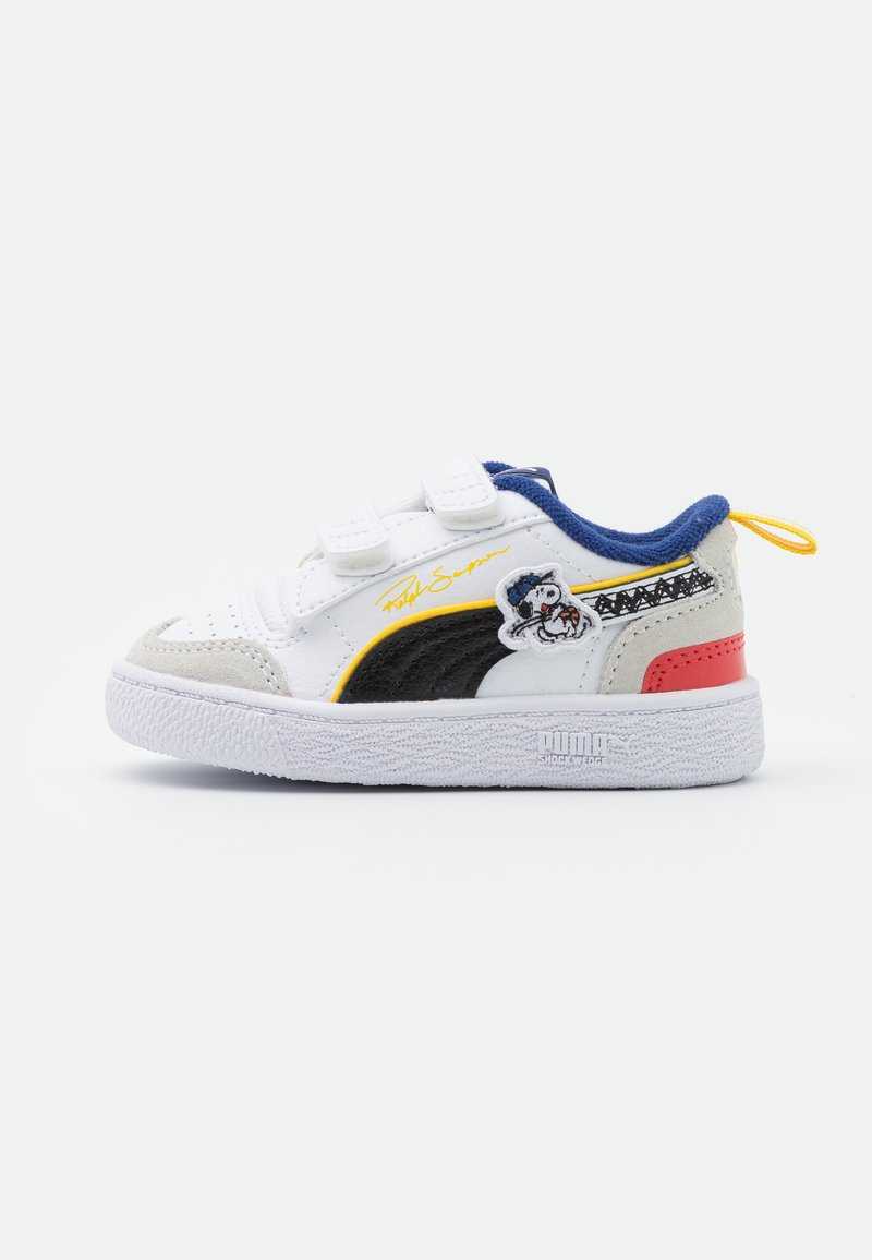 Puma - PEANUTS RALPH SAMPSON UNISEX - Matalavartiset tennarit - white/black