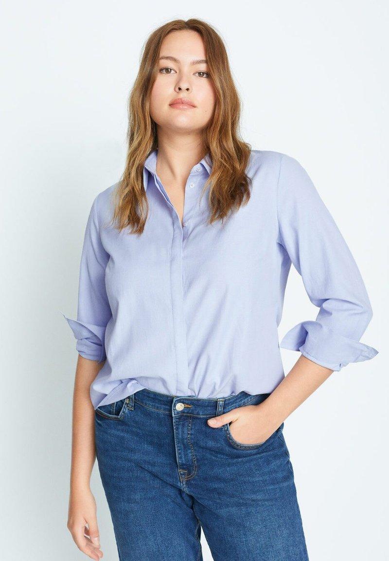 Violeta by Mango - OXFORD7 - Button-down blouse - himmelblau