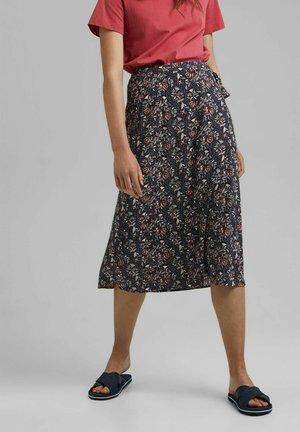 Wrap skirt - navy
