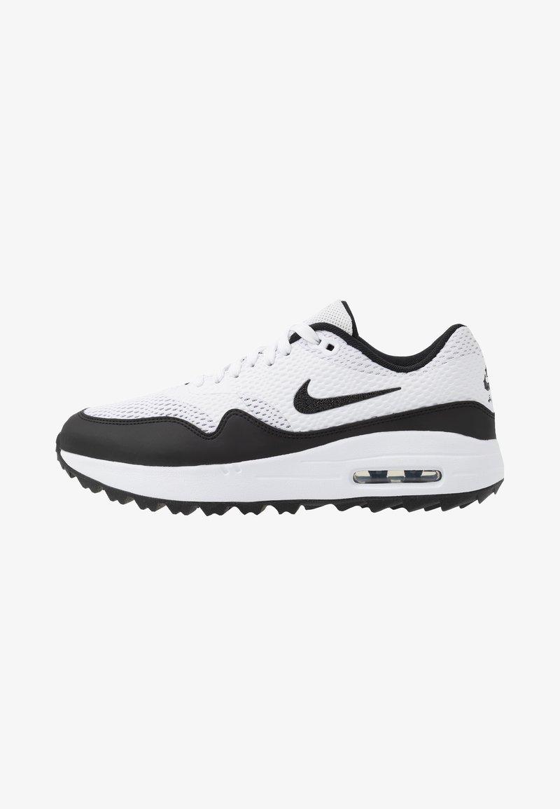 Nike Golf - AIR MAX 1 G - Golfové boty - white/black