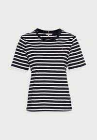 REGULAR - Print T-shirt - breton/desert sky white