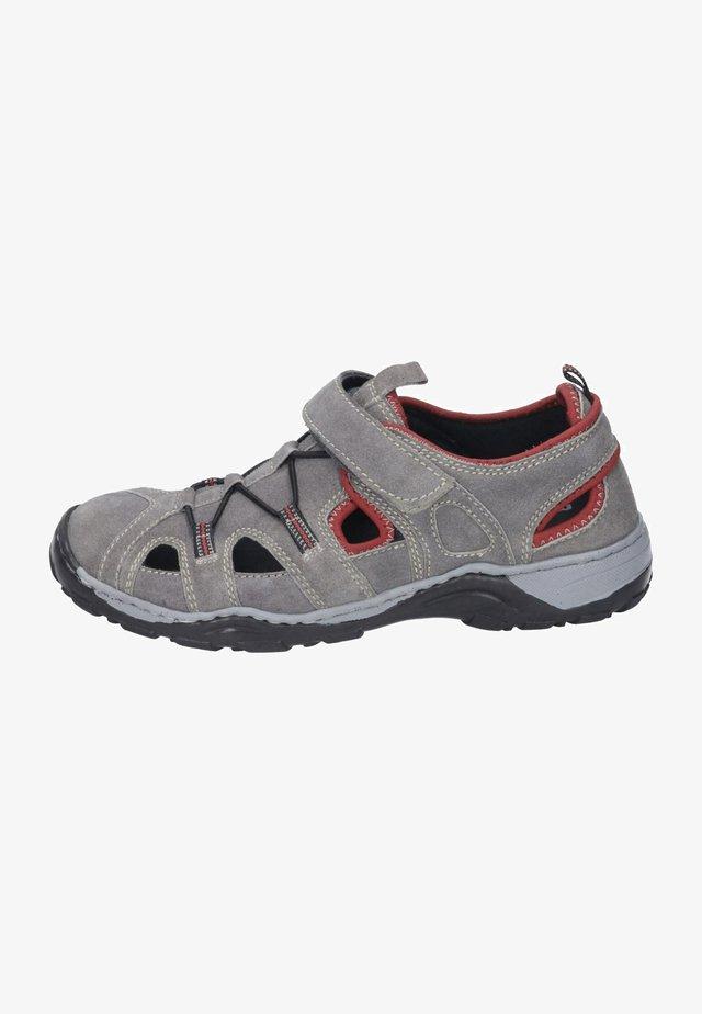 Walking sandals - beige rot