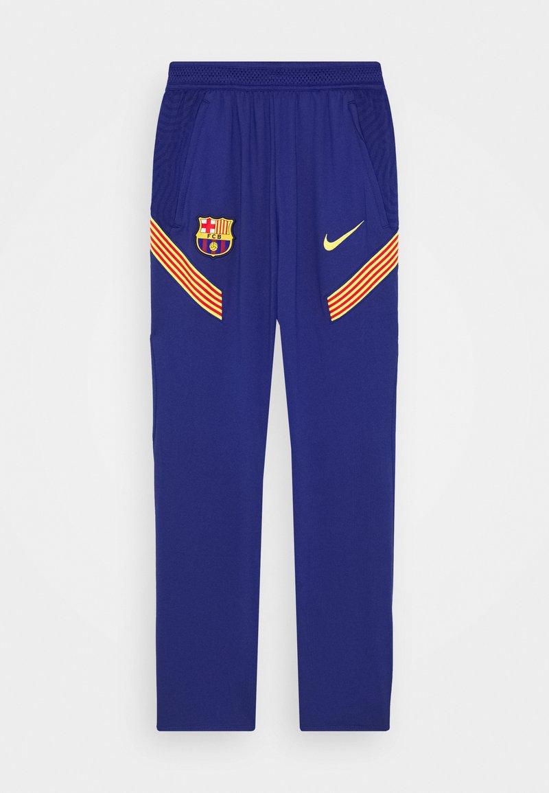 Nike Performance - FC BARCELONA  PANT - Club wear - deep royal blue/amarillo