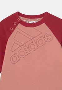 adidas Performance - SET UNISEX - Tuta - ambient blush/victory red - 3