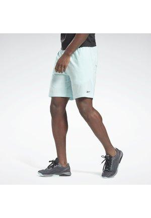 REEBOK AUSTIN SOLID SHORTS - Sports shorts - blue