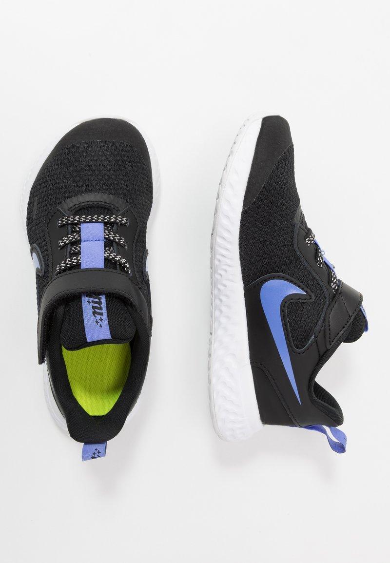 Nike Performance - REVOLUTION 5 GLITTER - Obuwie do biegania treningowe - black/sapphire/lemon/white