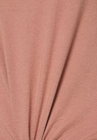 Abercrombie & Fitch - KNOTTED MIDI - Jednoduché triko - pink - 5