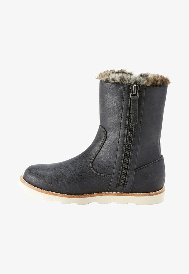 FAUX FUR TRIM BOOTS (OLDER) - Winter boots - schwarz