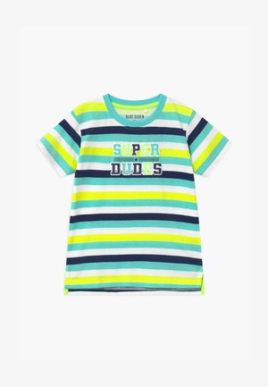 SMALL BOYS STRIPE - T-shirt print - grün
