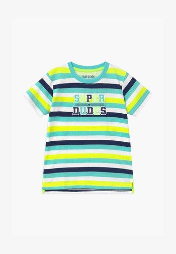 SMALL BOYS STRIPE - Print T-shirt - grün