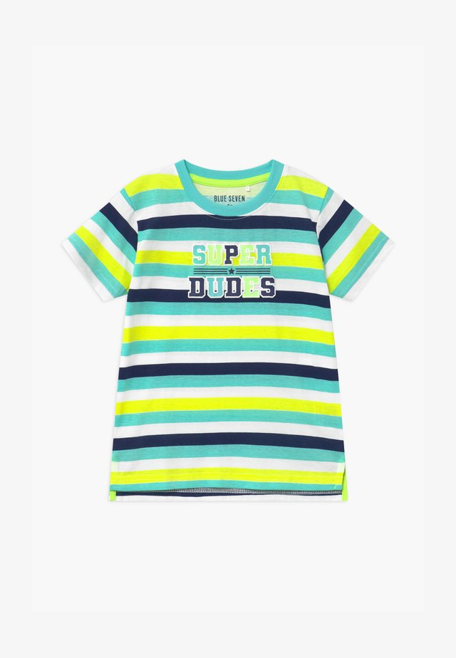 SMALL BOYS STRIPE - Print T-shirt - grün