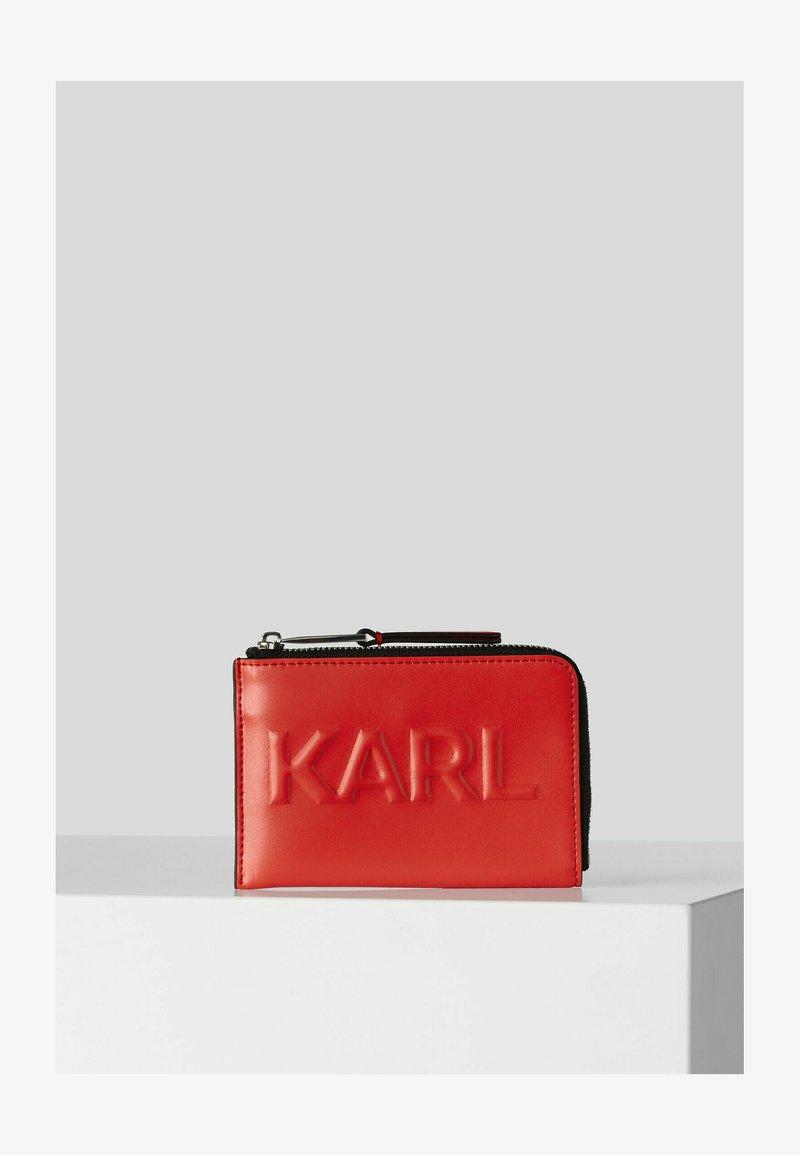 KARL LAGERFELD - Wallet - tangerine