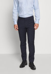 Tommy Hilfiger Tailored - WINDOWPANE SLIM FIT SUIT - Oblek - blue - 4