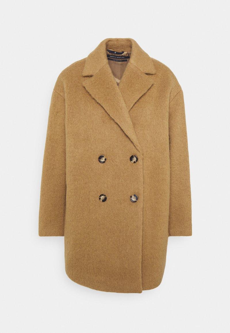 Marc O'Polo - COAT - Classic coat - faded tobacco