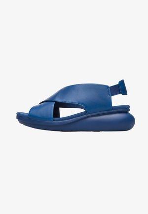 BALLOON - Riemensandalette - blau