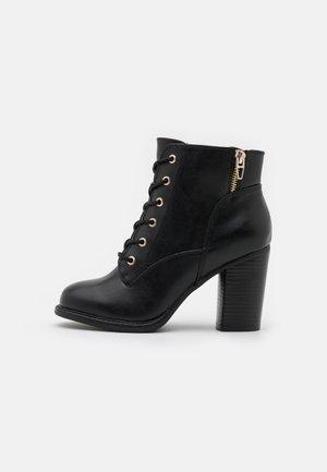 BIMNI - Lace-up ankle boots - black