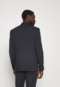 Selected Homme - SLIM FIT DOUBLE BREASTED SUIT - Oblek - dark blue/grey - 3