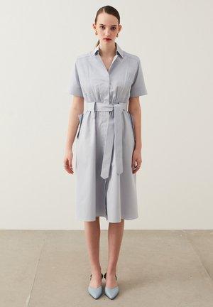 Shirt dress - pastel blue